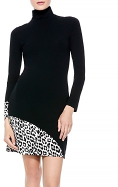 Alice + Olivia Delora Turtleneck Dress