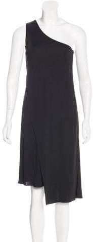 Maison Margiela One-Shoulder Sleeveless Dress