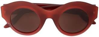 Lapima round-frame sunglasses