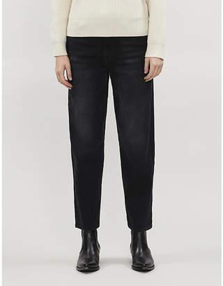 7 For All Mankind Malia Soho straight stretch-denim jeans