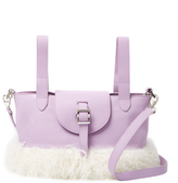 Meli-Melo Thelma Mini Leather & Shearling Crossbody