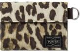 Head Porter Leopard Wallet (m)