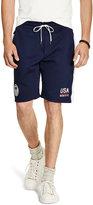 Ralph Lauren Usa Double-knit Short