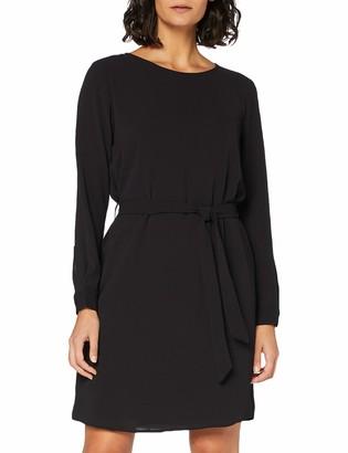 JDY Women's JDYAMANDA L/S Belt Dress WVN NOOS Business Casual