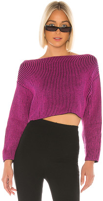 superdown Mae Cropped Sweater