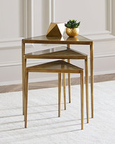 Interlude Janine Triangular Nesting Tables