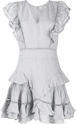 Etoile Isabel Marant sleeveless Audrey ruffle dress