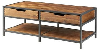 Madison Home USA Ryker Natural/ Graphite Coffee Table