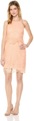 BB Dakota Women's Bryn Bodycon Lace Dress
