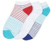 Burton Burton Pringle 3 Pack White Trainer Liner Socks
