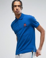 Love Moschino Embroidered Chest Polo Shirt