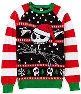 Disney Disney's The Nightmare Before Christmas Jolly Pumpkin King Jack Skellington Christmas Sweater