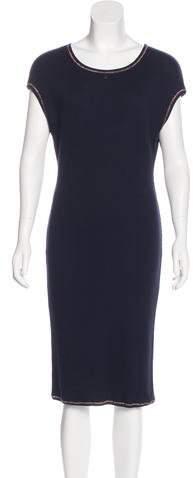 Chanel Rib Knit Midi Dress