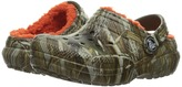 Crocs Classic Lined Clog Realtree Max-5 (Toddler/Little Kid)