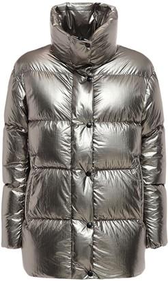 Duvetica Miram Metallic Nylon Down Jacket