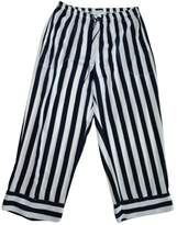 Donna Karan Navy Trousers for Women