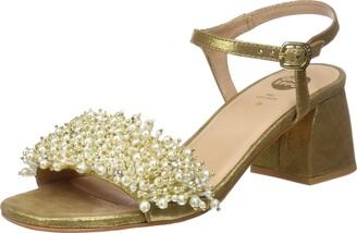 GIOSEPPO Women's 45314 Open Toe Heels