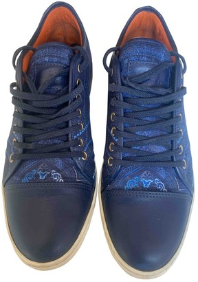Etro Blue Cloth Trainers