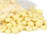 TONSEE Hair Removal Hard Wax Beans, Stripless Full-Body Depilatory Wax Beads, 50g/bag (Cream)