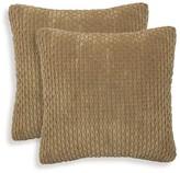 Essentials 2pk Beacon Ribbed Plush Throw Pillow