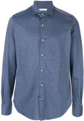 Loro Piana long-sleeve fitted shirt