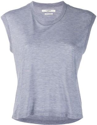Etoile Isabel Marant cropped round neck T-shirt