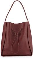 3.1 Phillip Lim Soleil Large Drawstring Bucket Bag, Burgundy
