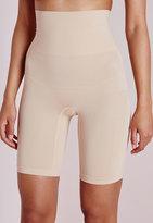 Missguided Holmona Nude Shapewear Shorts