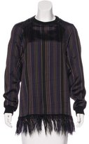 Dries Van Noten Striped Tunic Top