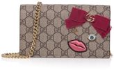 Gucci Face-embellished GG Shoulder Bag