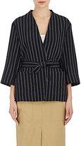 Acne Studios Women's Texel Pinstriped Wool Jacket