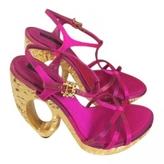 Louis Vuitton Pink Heels