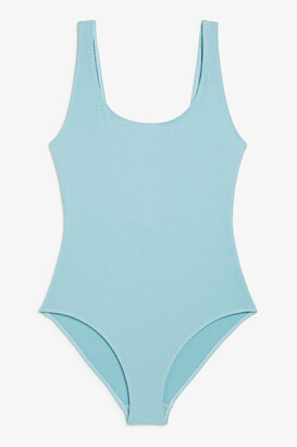 Monki Low back swimsuit