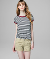 Prince & Fox Striped Ringer Tee