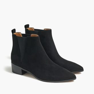 J.Crew Fallon faux microsuede boots