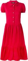 Twin-Set shirt dress - women - Cotton/Spandex/Elastane - 46