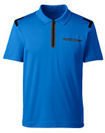 Lands' End Men's Solid Performance Polo-Vibrant Zest