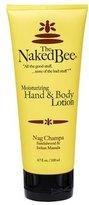 The Naked Bee Moisturizing Hand & Body Lotion, 6.7 Ounce, Nag Champa Sandalwood & Indian Massala