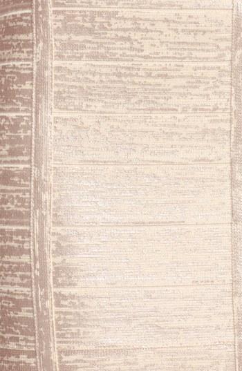 Herve Leger V-Neck Metallic Bandage Gown
