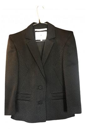 Designers Remix Black Wool Jackets
