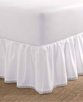 Laura Ashley Crochet Ruffle Twin Bedskirt Bedding