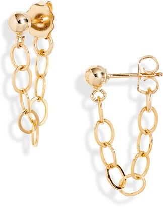 Set & Stones Marley Chain Stud Earrings