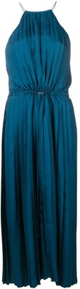 Tibi Mendini twill pleated dress