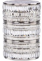 Judith Leiber Three-Part Reflections Crystal Box Clutch