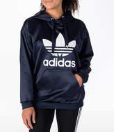 adidas Women's Originals Trefoil Satin Hoodie