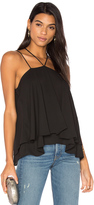 Krisa Double Strap Layered Cami