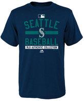 Majestic Boys' Seattle Mariners On Field Property T-Shirt