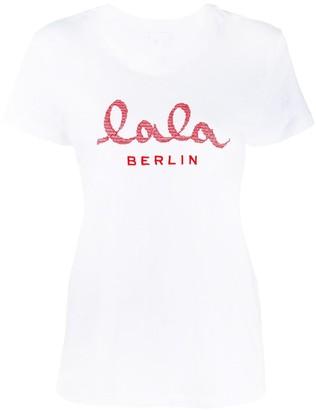 Lala Berlin logo print T-shirt