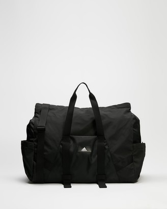 adidas Women's Black Duffle Bags - Sports Duffle Bag - Size One Size at The Iconic