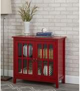 Beachcrest Home Purdue with Wooden Top Accent Cabinet